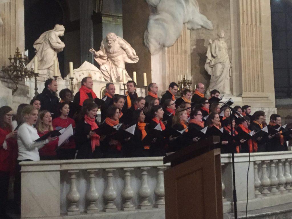 Jeune choeur liturgique